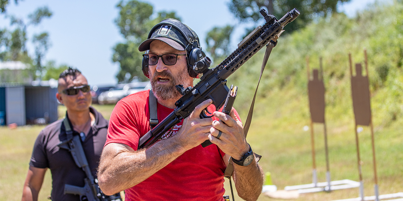 Torrey from MAST Solutions shows 5.56 magazine manipulation with his AR15 pistol or SBR