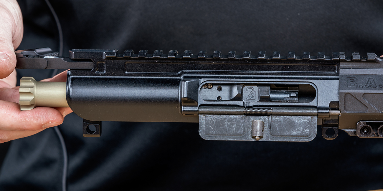 2A Armament lightweight adjustable 5.56/300blk BCG and Fortis Clutch charging handle for AR rifle