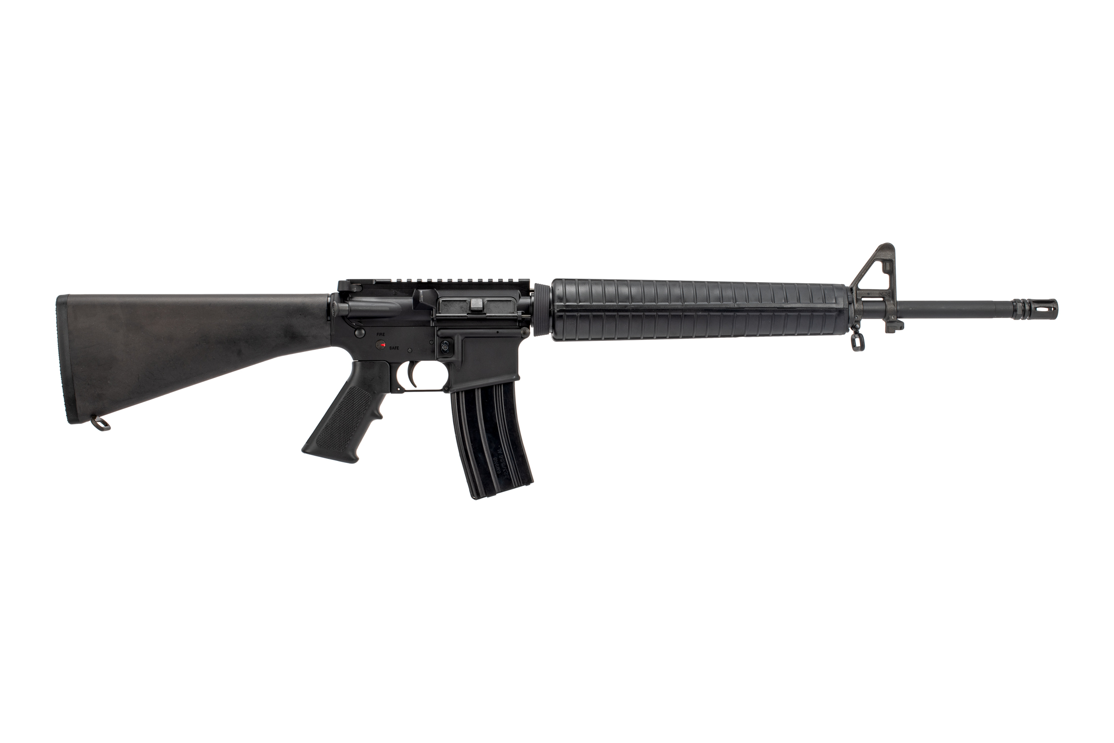 classic m16 pattern rifle with mil-spec charging handle