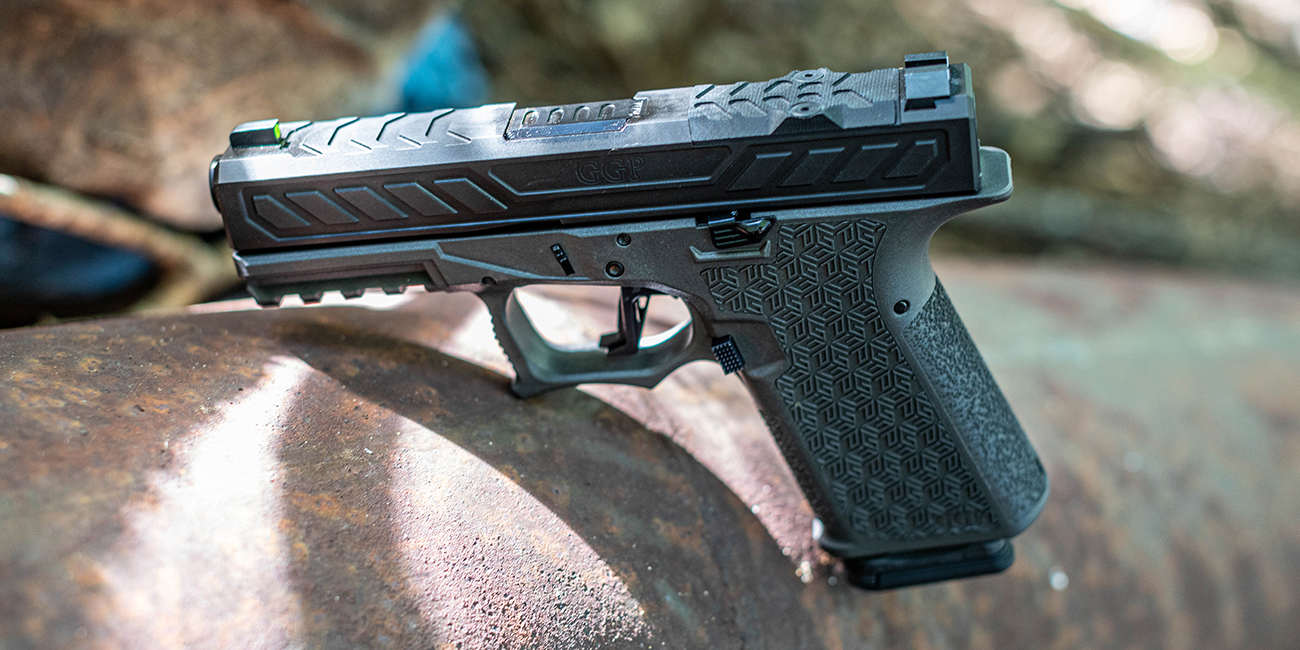 Close look at the Grey Ghost Precision Combat Pistol Compact for Primary Arms Glocktober Giveaway Finale
