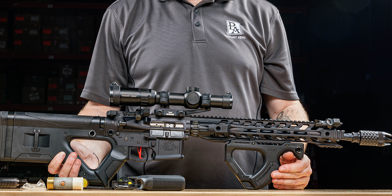 Assembled X39 Space Gun Giveaway Rifle, chambered in 7.62x39