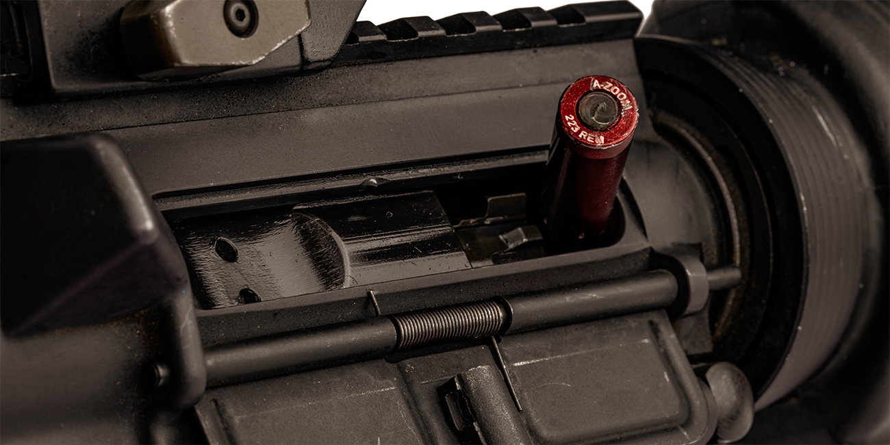 Colt AR 15 with stovepipe malfunction