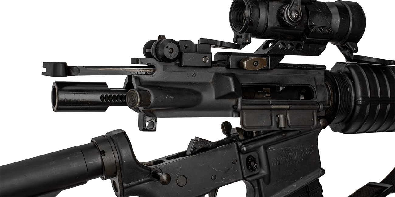 AR15 upper receiver opened to address malfunctions