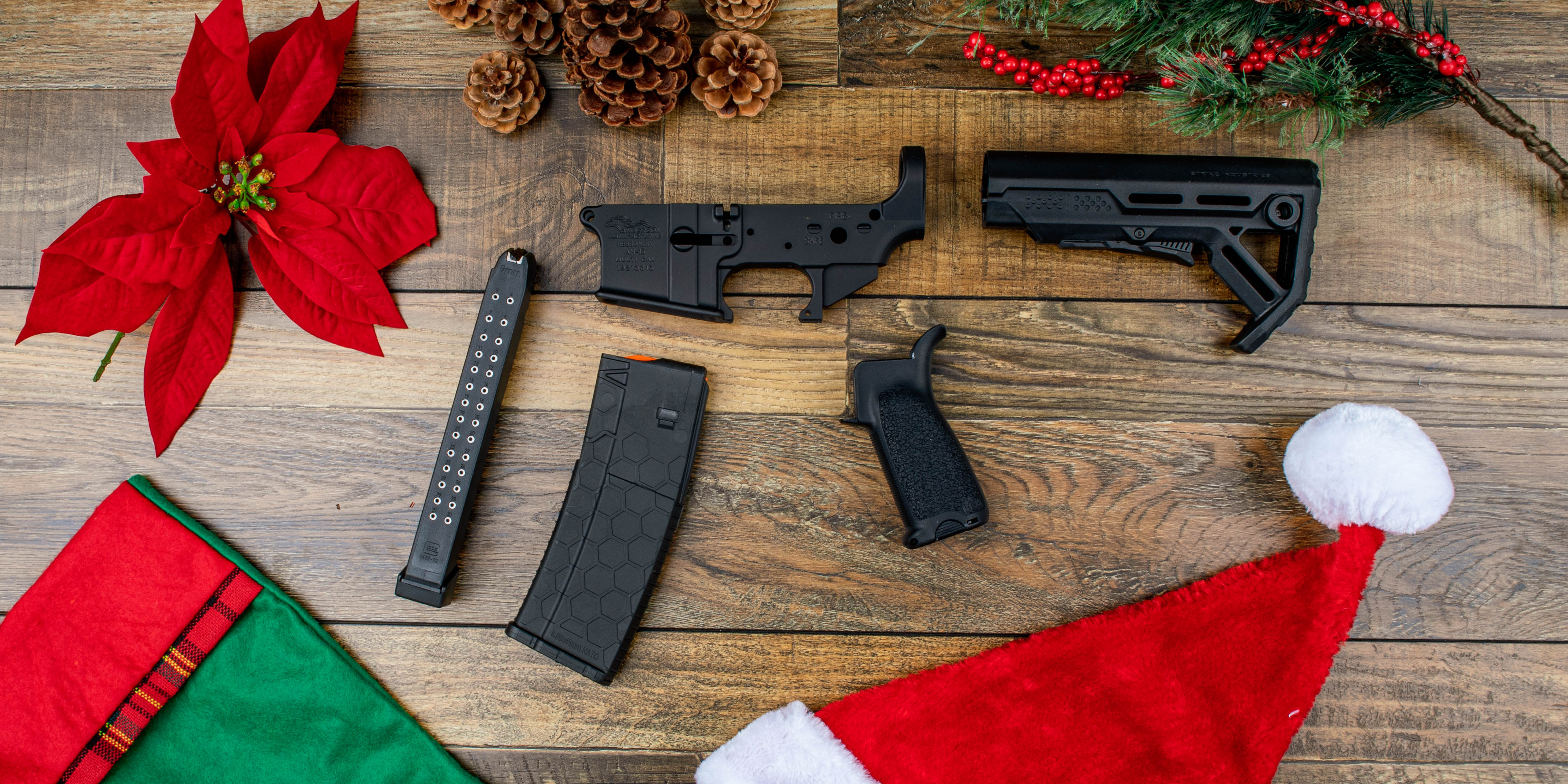 Primary Arms $50 gifts including Hexmag, BCM, Strike Industries, and Anderson Mfg.