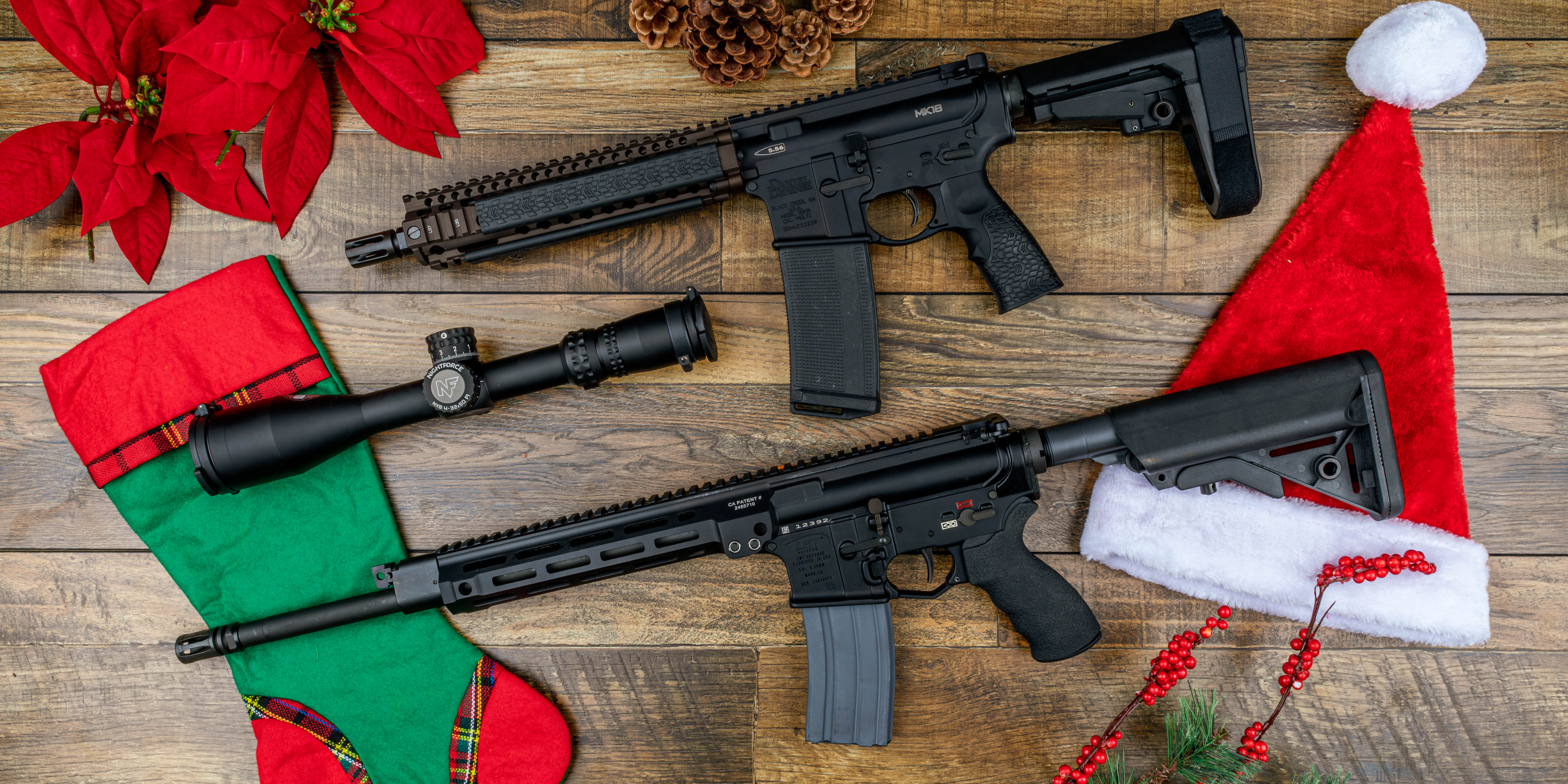 Primary Arms best gifts for 2019 including Daniel Defense, LMT, and Nightforce.
