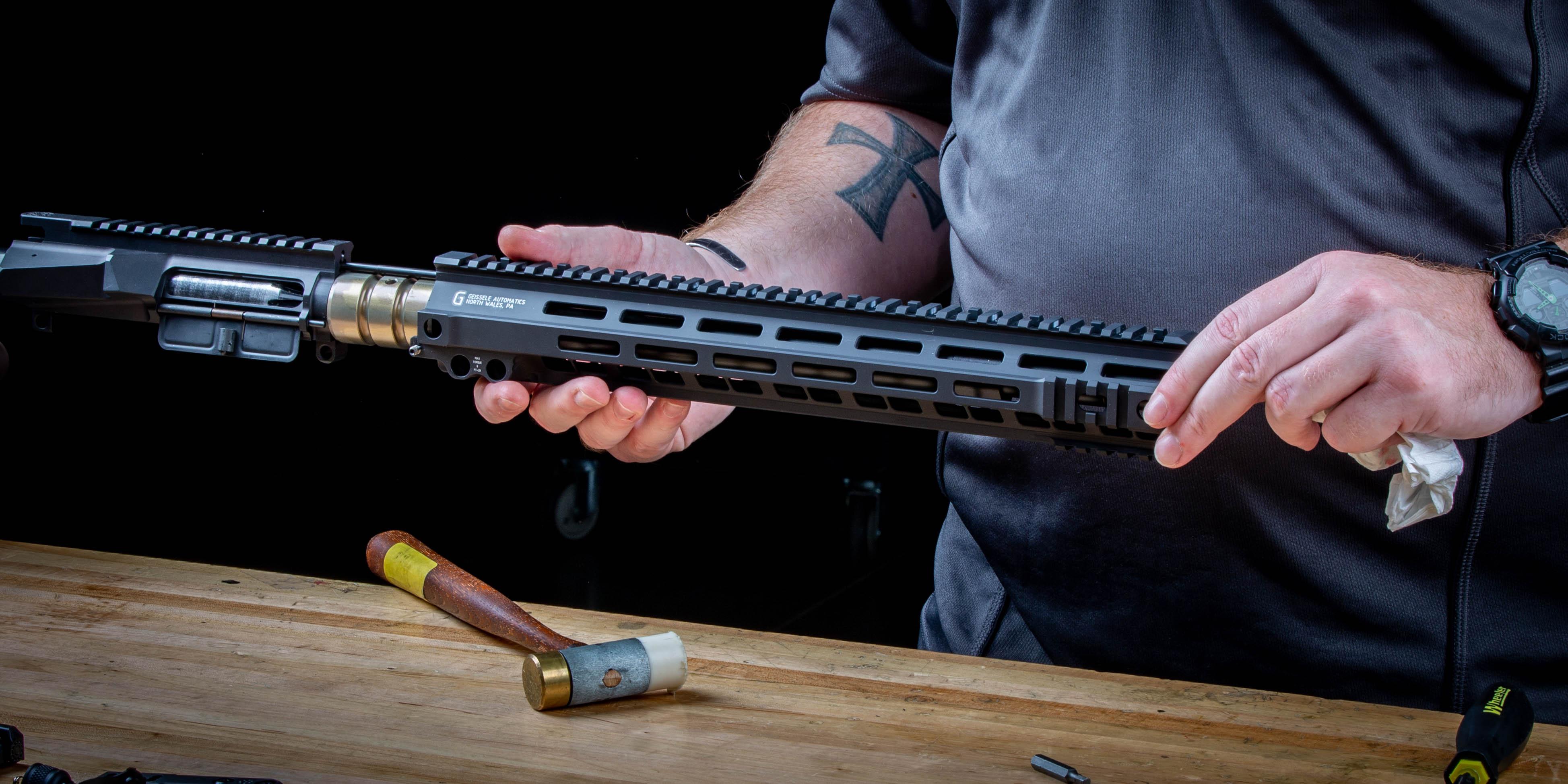 MK12 rifle