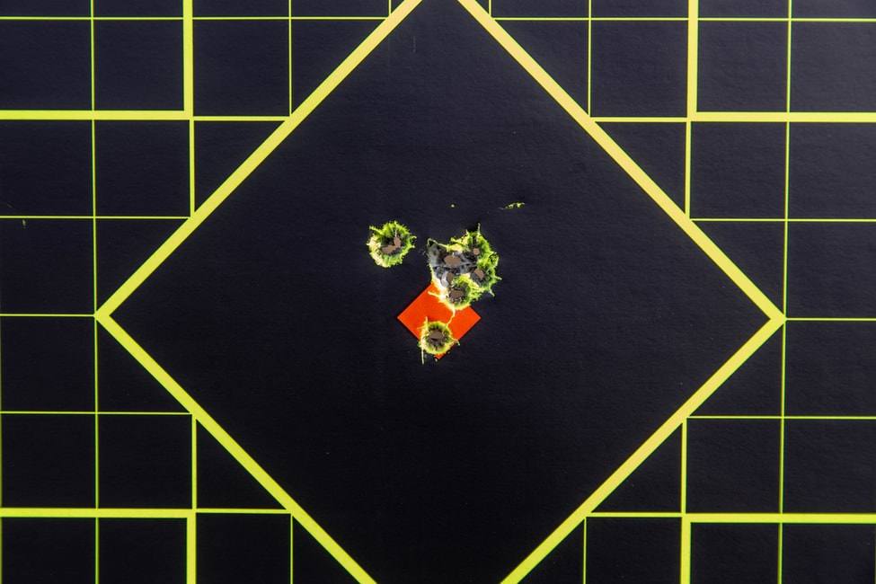 ruger 10/22 grouping