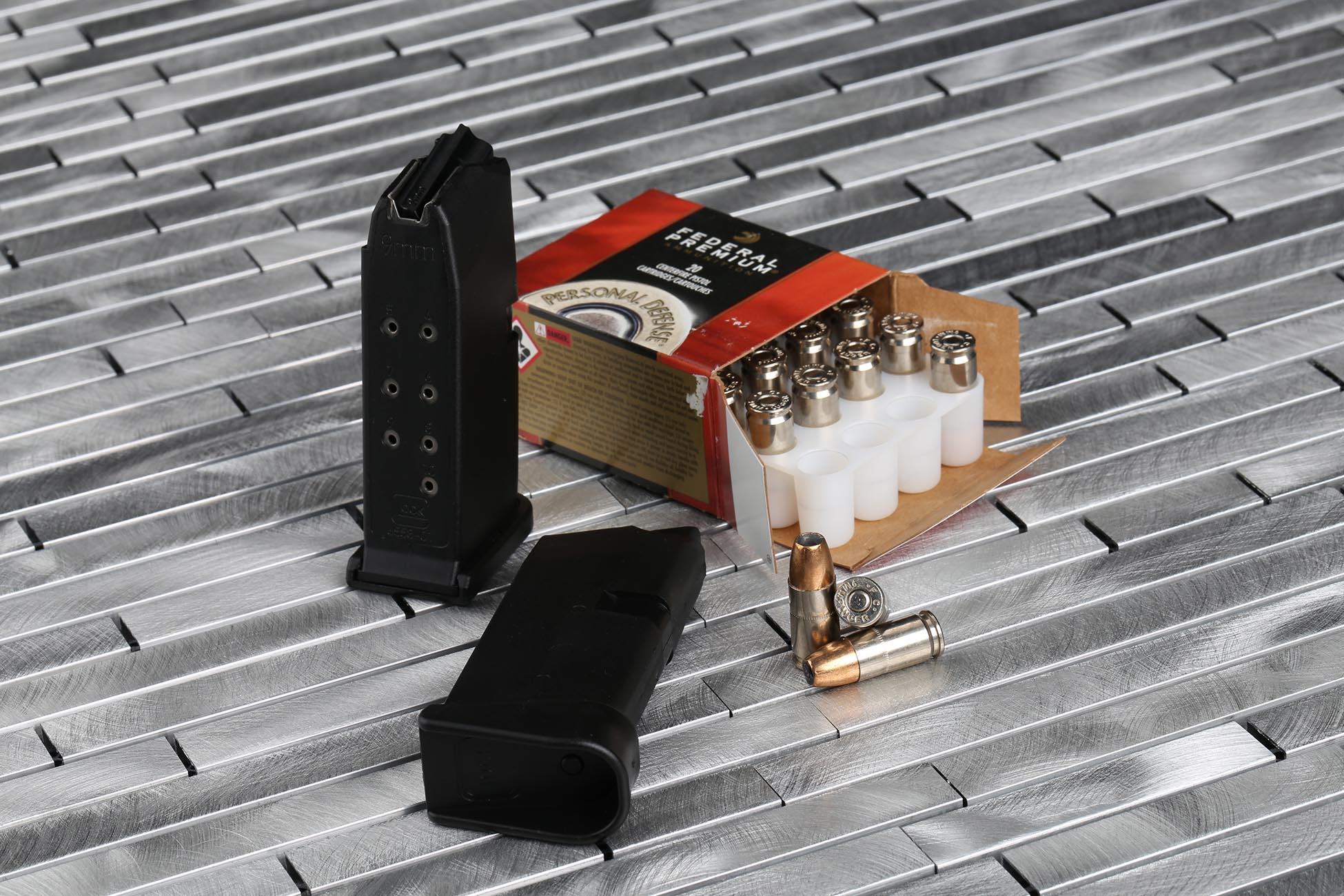 Federal HST 9mm Hollow Point self defense ammunition