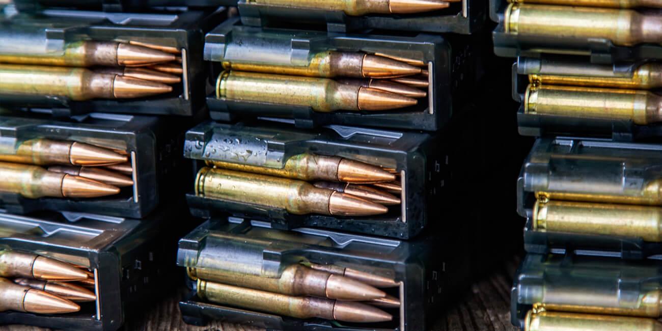 rifle ammo