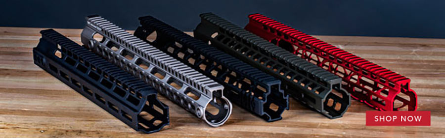 A freefloat handguard improves accuracy by providing a more stable support for your AR15