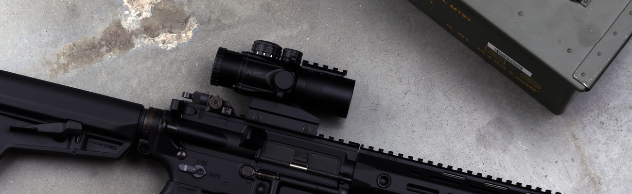 The Primary Arms 3X compact prism scope with ACSS CQB reticle