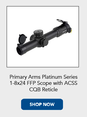 Shop now for the Primary Arms 1-8X Platinum Series rifle scope with ACSS reticle