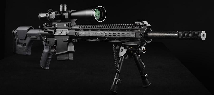 AR-10 6.5 Creedmoor rifle is a perfect choice for long range deer hunting