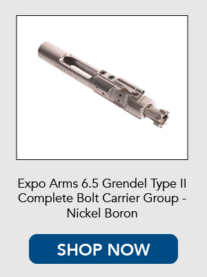 Shop now for the Expo Arms 6.5 Grendel Nickel Boron Bolt Carrier Group.