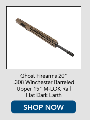 Shop Now for Ghost Firearms Complete AR-10 / AR-308 complete upper receiver.