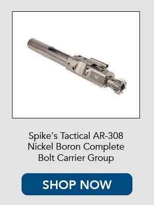 Shop now for Spikes Tactical AR-308 / 6.5 Creedmoor Nickel Boron Bolt Carrier Group.