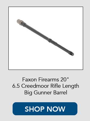 Shop now for Faxon Firearms 6.5 Creedmoor Rifle Length Barrel.