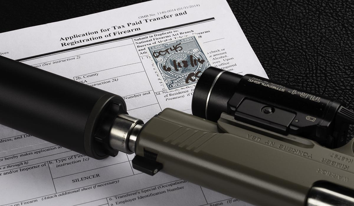 It is important to complete your NFA paperwork properly