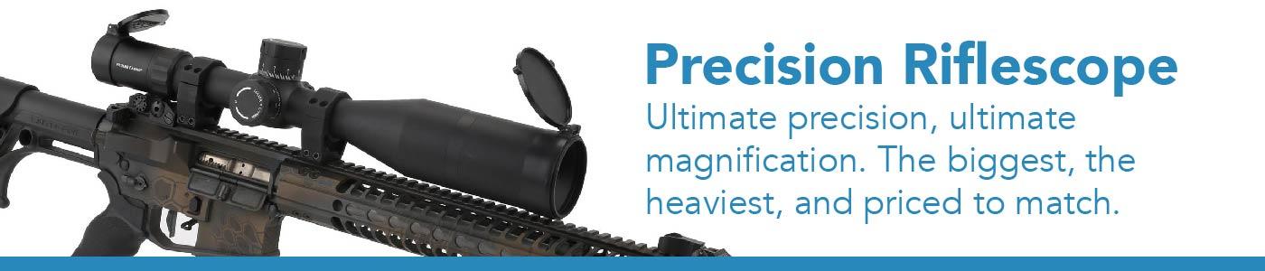 rifle optics designed for long range precision