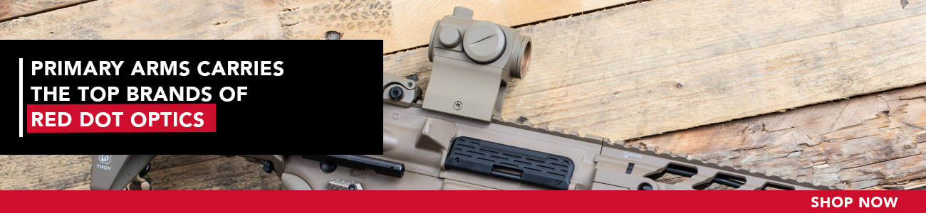Primary Arms carries a full line of Red Dot and Holographic Optics