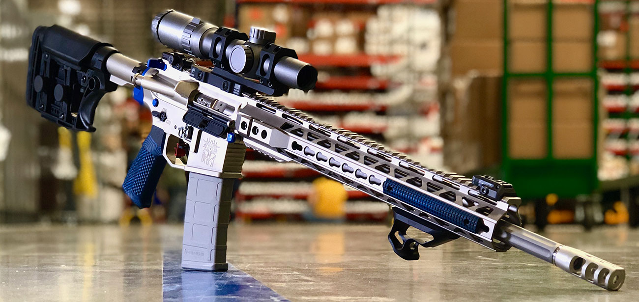 .224 Valkyrie AR-15 with Primary Arms 1-6x FFP Scope