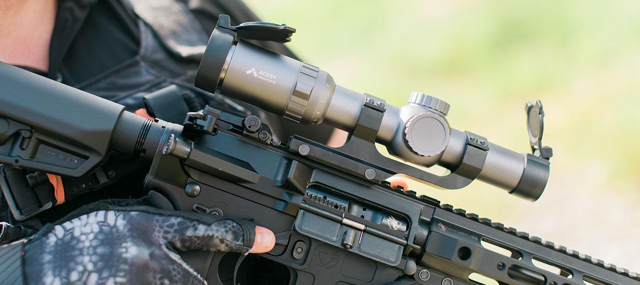 Primary Arms 1-6x SFP Scope