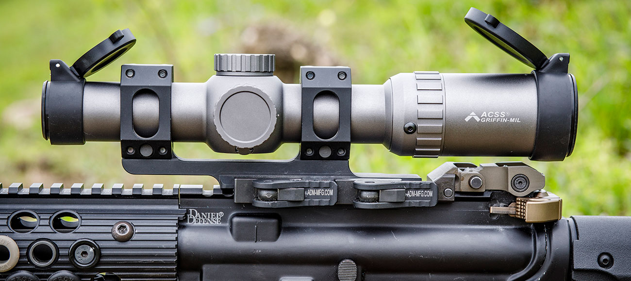 Primary Arms 1-6x Scope with ACSS Griffin MIL Reticle