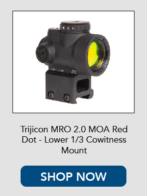 Shop now for the Trijicon MRO Red Dot with 1/3rd cowitness riser mount.