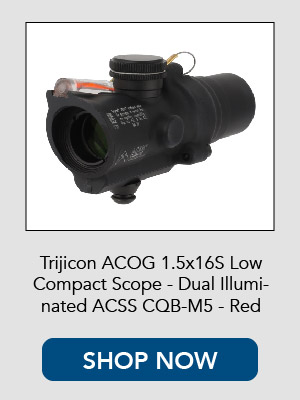 Shop the Trijicon mini ACOG with ACSS reticle.