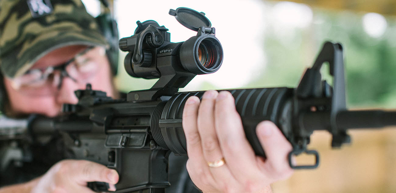 Zero your Primary Arms 30mm Red Dot Sight with this zeroing hack.