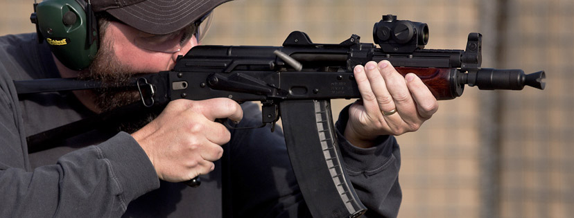 A red dot sight makes a perfect addition to an AK-47 or other AK pattern rifle.
