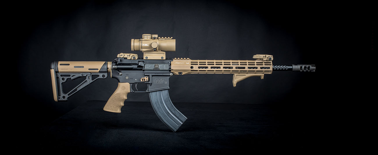 Here is a 7.62x39 AR-15 build featuring a Primary Arms 3x Prism Scope with ACSS 300blk/7.62x39 BDC reticle.