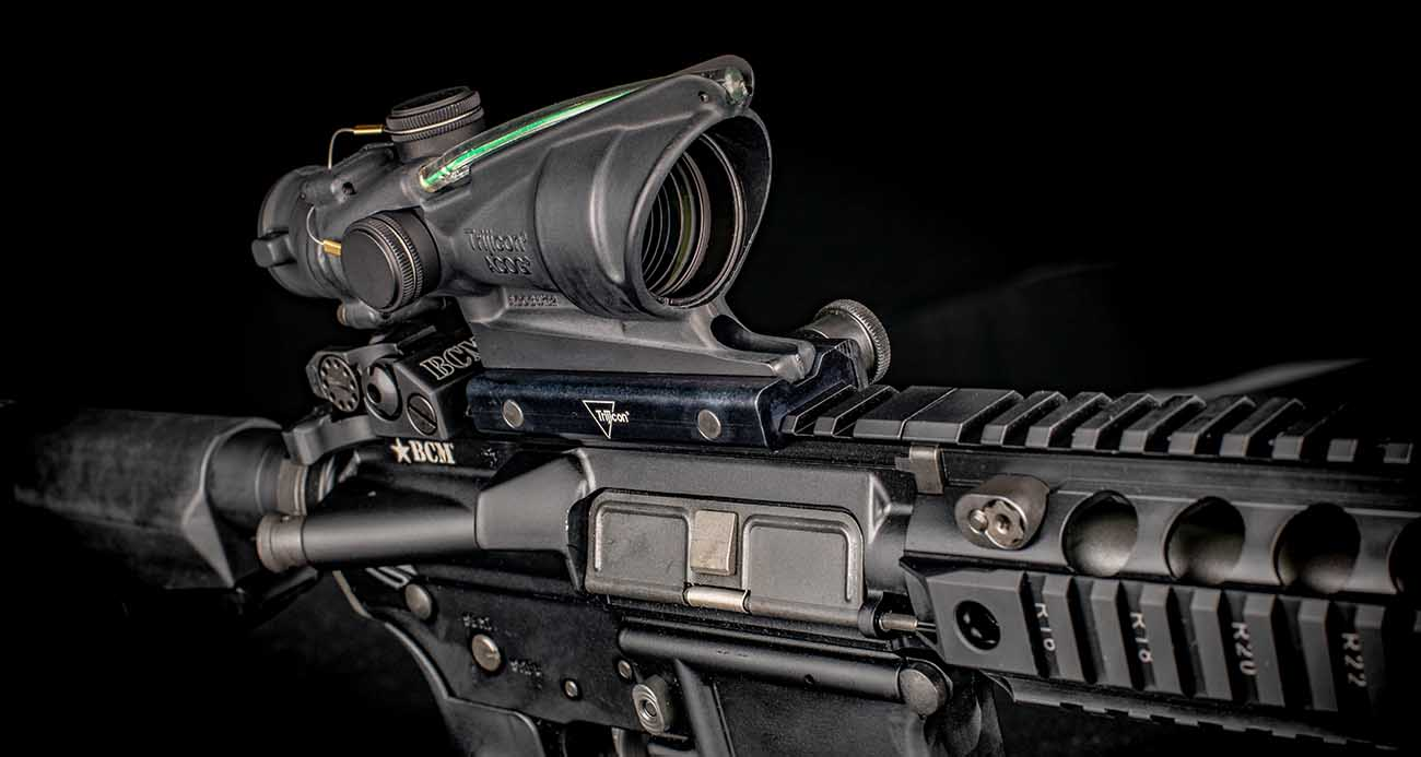 The Trijicon ACSS-equipped ACOG is the perfect combination of speed and precision to get you on target faster and get hits quicker.