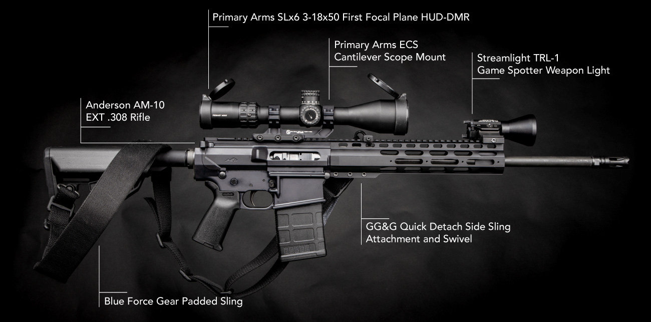 Here's a breakdown of the Anderson AM-10 .308 Rifle we are giving away at Primary Arms.