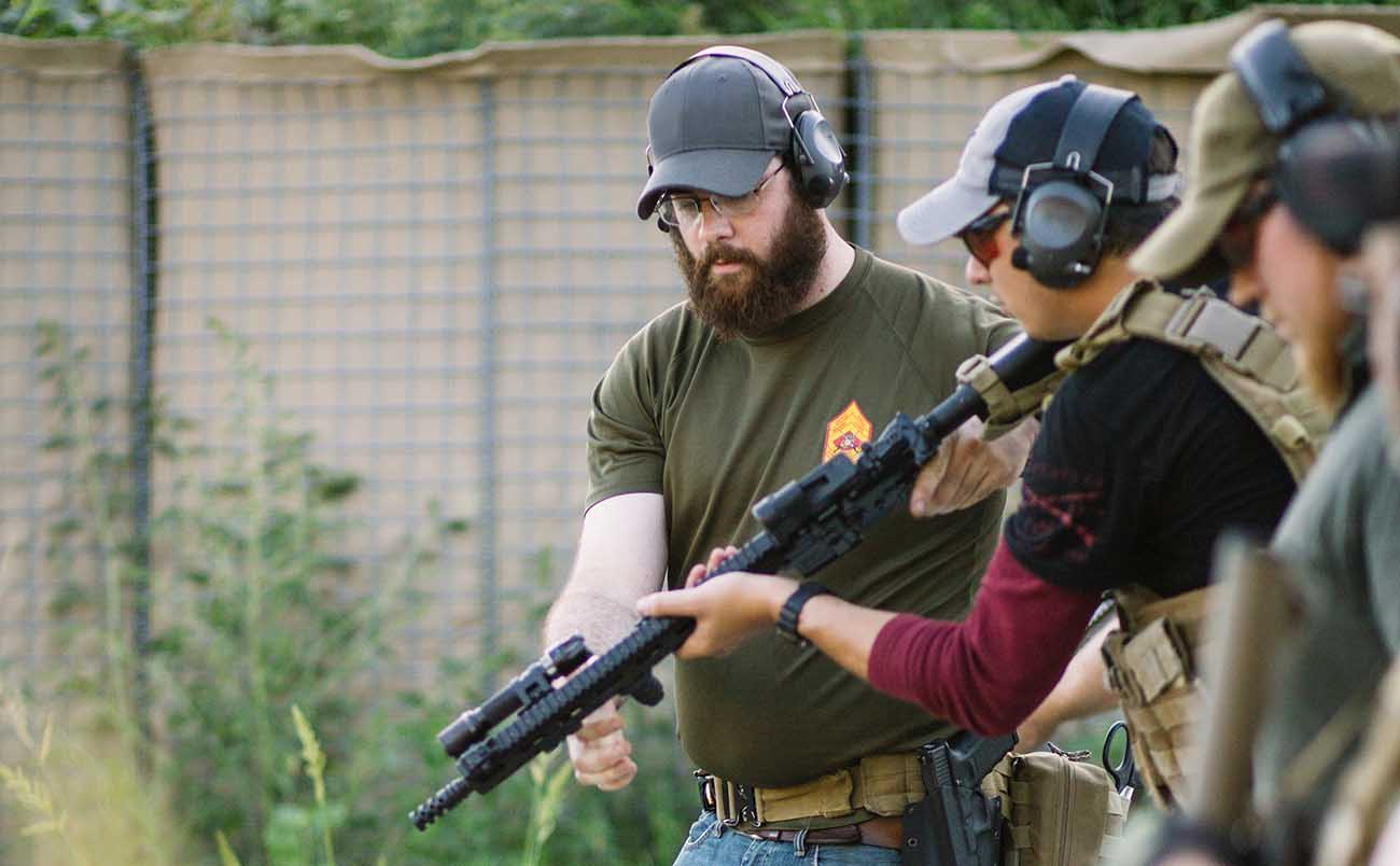 Getting firearms training from certified safety officers is a great way to indroduce new shooters to firearms.