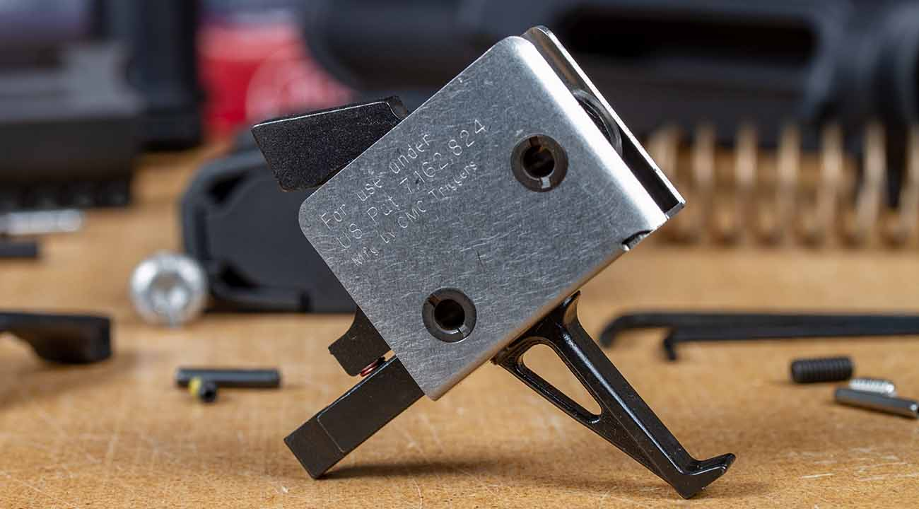 The CMC single stage drop in trigger assembly is the perfect choice for a 3 gun build that won't break the budget.