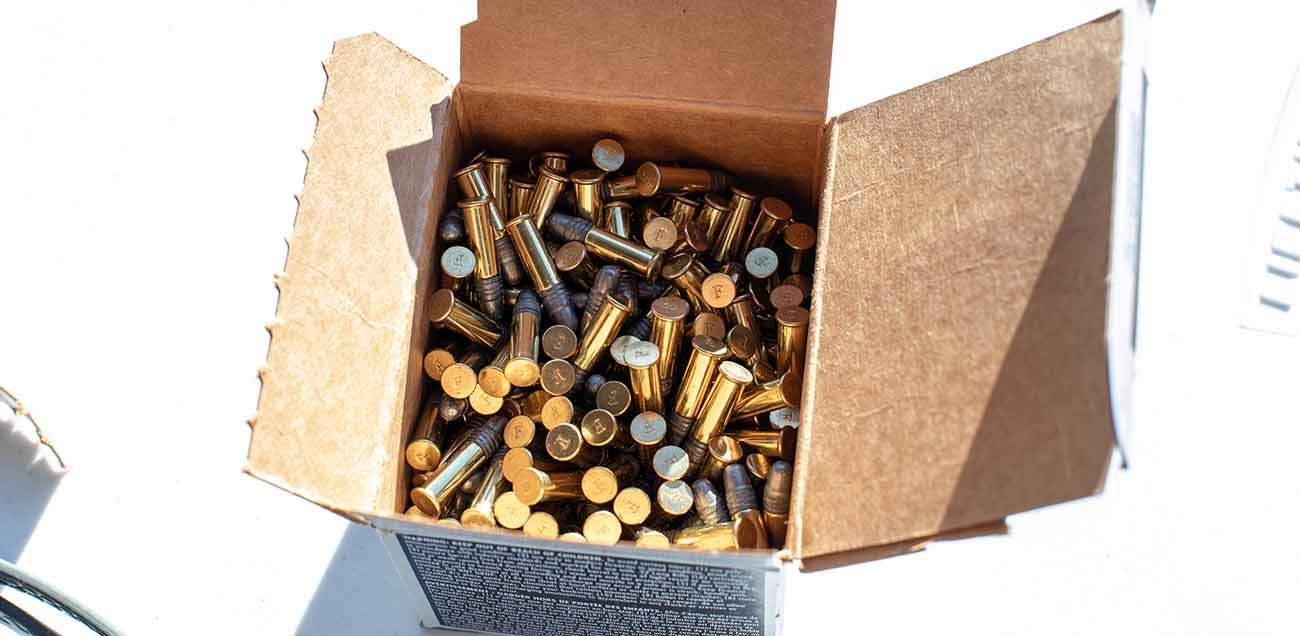 This box of 300 winchester white box .22LR ammo will go a long way at the range for not a lot of money.