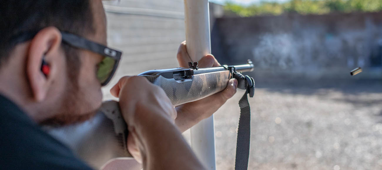 Even a stock Ruger 10/22 with iron sights is as much fun on the range as any other firearm you could shoot.