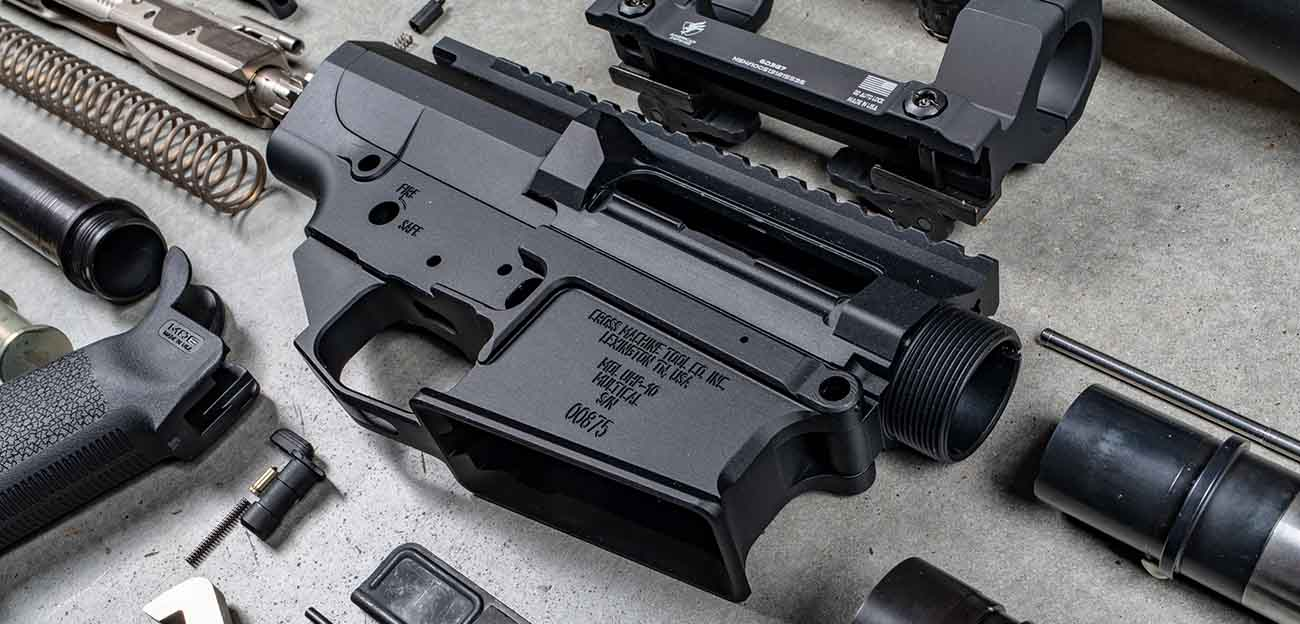 Cross Machine Tool matched billet reciever set for a secure fit and stable upper receiver and lower receiver.