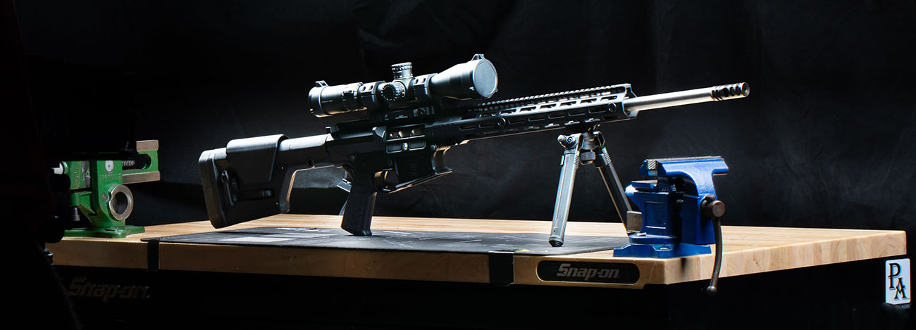 This 6.5 Creedmoor long range precision AR-10 rifle was a joy to build. Enter to win this rifle!