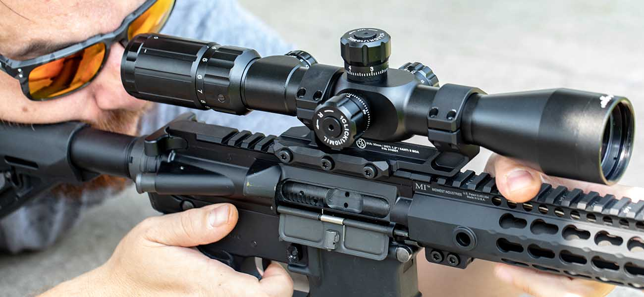 Once your optic is mounted properly, it's time to head to the range for a great time shooting!