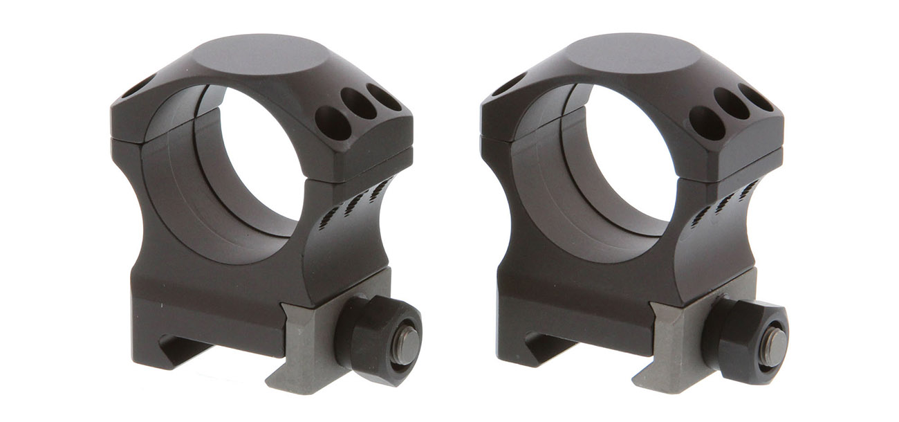 Nightforce X-Treme Duty scope rings are an excellent option for your AR-15 scope.