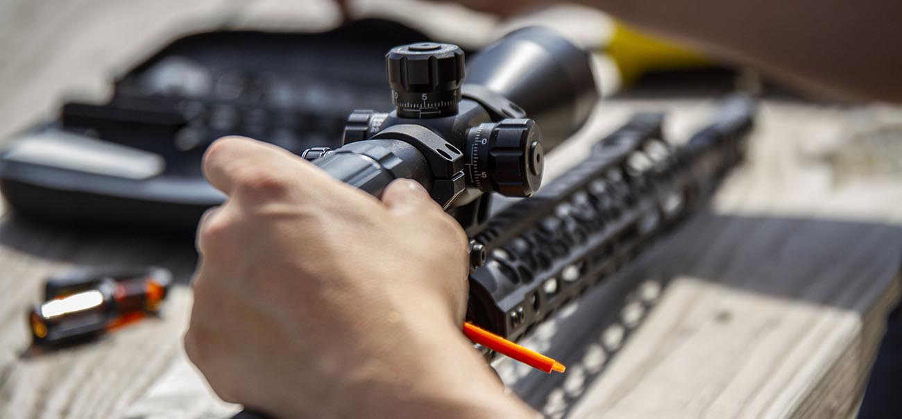 Finding the perfect eye relief for you and your rifle is essential before securing the mount to the AR-15.