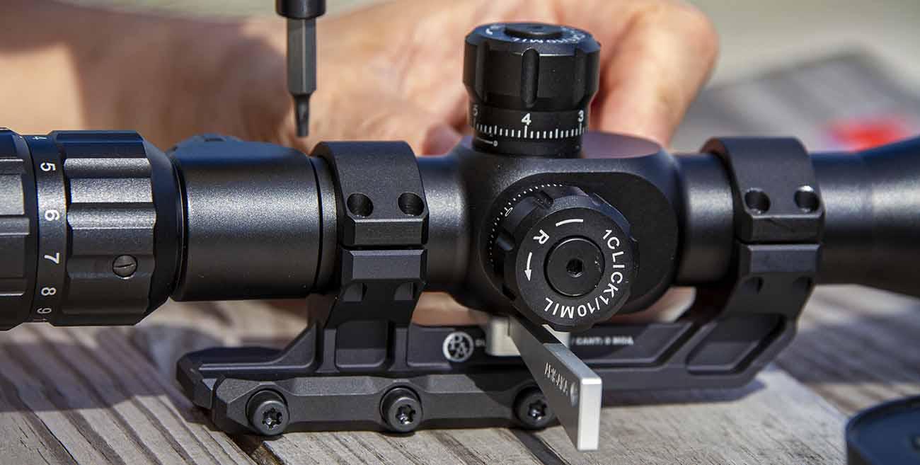 Using torx bits and the Arisaka Optic Leveler to mount your AR-15 scope.